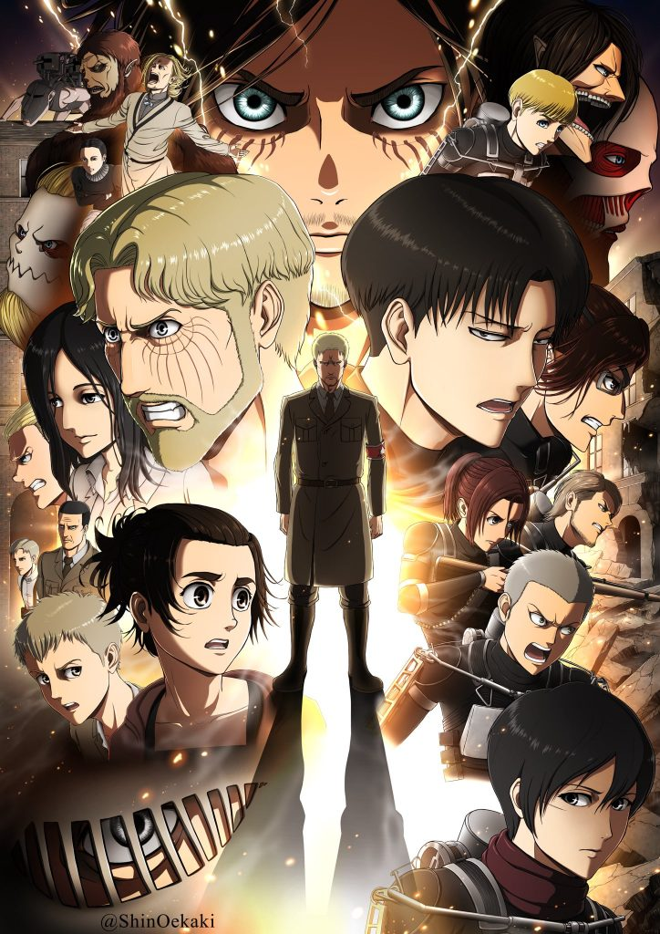 Attack On Titan Season 4: All The Characters Update And Netflix Release Date - TheNationRoar