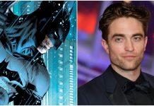 Robert as Batman